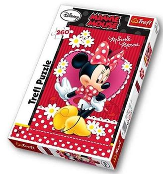 "Trefl Пaзл ""Disney Minnie"" (260 деталий)"