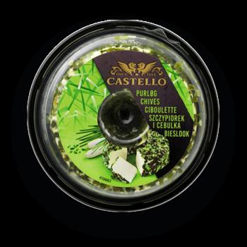 CASTELLO ™ Crema de brinza cu CEAPA VERDE 125 g.
