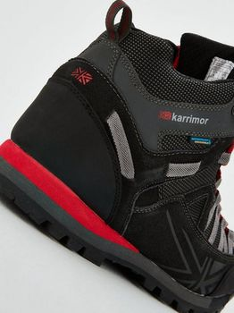 купить Ботинки Karrimor Spike Mid 3 weathertite Black/Red UK K949-BKR-151 в Кишинёве