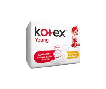 купить Прокладки Kotex Young Normal, 10 шт. в Кишинёве