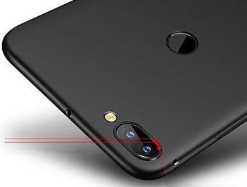 160015 Husa Screen Geeks Solid Xiaomi Mi 8 Lite, Black (чехол накладка в асортименте для смартфонов Xiaomi)