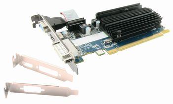 купить Sapphire Radeon R5 230 1GB DDR3 64bit 667/1250Mhz  DVI, HDMI, bulk, low profile в Кишинёве