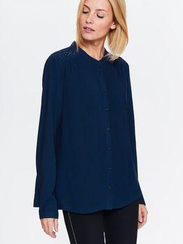 Блуза TOP SECRET Темно синий с принтом SKL2466GR