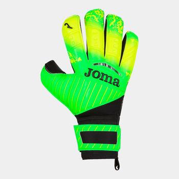 Вратарские перчатки JOMA - BRAVE VERDE FLÚOR