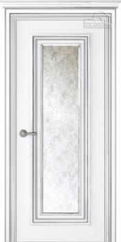 cumpără Usa PALATTO 1 emal alb patina argint cu stecla în Chișinău