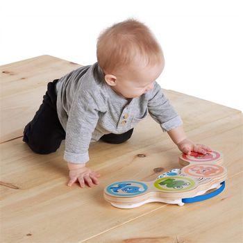 купить Игрушка деревянная с музыкой Hape & Baby Einstein Magic Touch Drum™ в Кишинёве