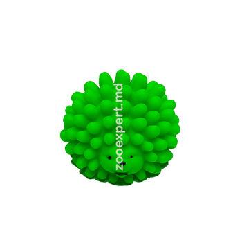 Ёжик с пупырышками зеленый 6 см