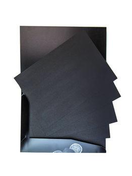 Папка с бумагой для сухих техник Graf'Art black, 150 гм, А3, 25л, Малевичъ