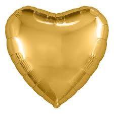 Серебряное сердце 30 / 76,5 см