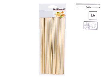 Палочки для гриля Elemental 75шт 25cm, бамбук