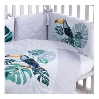 купить Veres Комплект для кроватки Tropic Baby, 6 штк в Кишинёве