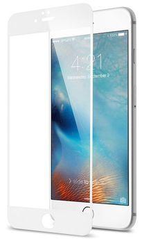 Защитное стекло Cover'X для iPhone 6/7/8 3D Zero Frame White