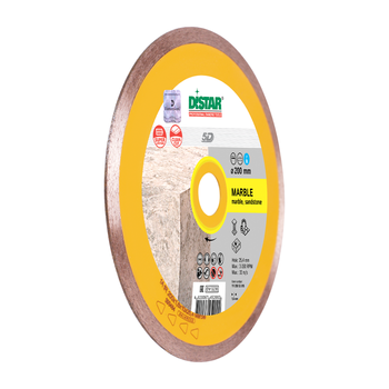 купить Алмазный отрезной диск Distar 1A1R 125x1.4x8x22.23 Marble в Кишинёве