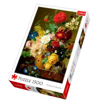 "Пазлы ""1500""-""Still life with flowers""код 40252"