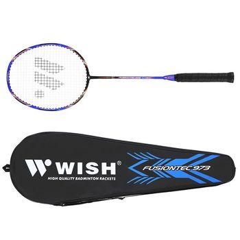 Ракетка для бадминтона Wish Fusiontec 973 14-00-043 (5267)