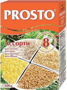 "купить ""PROSTO"" Асcорти круп 500гр (8 пакетиков) в Кишинёве"