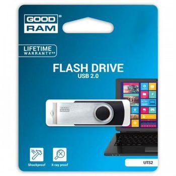 купить Flash Drive GOODRAM 32GB GoodRam UTS2 USB 2.0 UTS2-0320K0R11 в Кишинёве