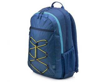 """15.6"""" NB Backpack - HP Active Blue/Yellow Backpack, Blue/Yellow"""