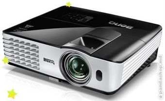 "cumpără DLP XGA   Projector 2800Lum,  5000:1 BenQ ""MX613ST"", ST(55""@1m) with 1.2x zoom, Black, 2.65kg (Native/Supported Resolution: XGA (1024x768)/640x480 to 1600x1200; Aspect Ratio: 4:3 Native, 16:9 Selectable; Brightness: 2800 ANSI lumens; Contrast Ratio: 5000:1; Image Size: 27"" to 300""; Throw Ratio: 0.9-1.08 (55""@1m); Lamp/Lamp life: 210W, 4000/5000 hours (Normal/Economic mode); Operational Noise: 30/26 dB (Normal/Economic mode); 2.65 kg; Analog RGB: D-sub 15 pin,  Digital: HDMI, S-Video: Mini Din 4 pin, Composite Video: RCA, 10 Watt Speaker x 1, USB connector: Type A x1 (USB reader); Type mini B x1 (USB display)) în Chișinău"