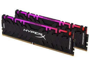 16GB DDR4-4266MHz  Kingston HyperX Predator RGB (Kit of 2x8GB) (HX442C19PB3AK2/16), CL19, 1.4V, Blk