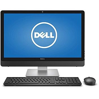 "AIl-in-One PC - 23,8"" DELL Inspiron 5459 FHD IPS Touch, Intel® Core® i3-6100T  3.20GHz, 8GB DDR3 RAM, 1TB HDD, DVD-RW, Intel HD 530 Graphics, HD Webcam, Wi-Fi-AC/BT, KM636 Wireless KB&MS, Win 10 Home Ru,  Black-Silver"