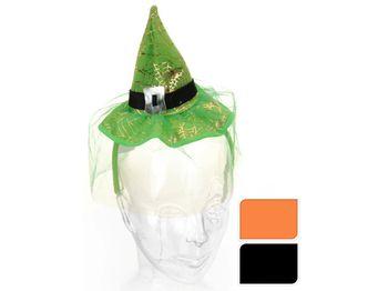 Шляпка ведьмы с обручем