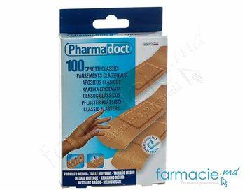 купить Emplastru Pharma Doct  N100 2x7cm Classic,medium (110093) в Кишинёве