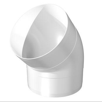 cumpără Cot de vent.plastic dn100 x 45° 121-45 în Chișinău
