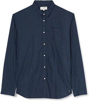 Рубашка TOM TAILOR Темно синий 1023187 25658