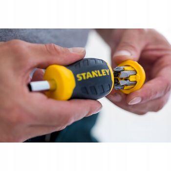 купить Отвертка Stanley Stubby Multibit  0-66-357 в Кишинёве