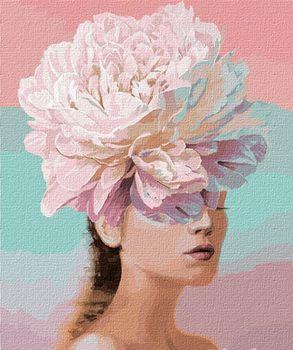 Картина по номерам 50x65 см Цветочные мысли 14765