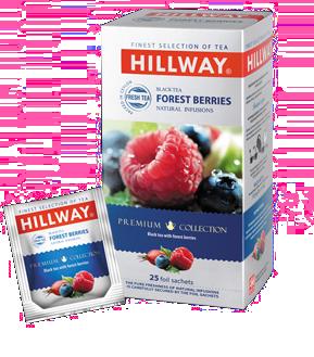 Черный чай Hillway с фруктами 25х1,5гр