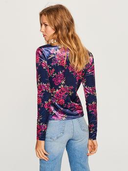 Блуза RESERVED Фиолетовый в цветочек up983-59x