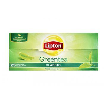 купить Lipton зеленый чай Clasic, 25 пак. в Кишинёве
