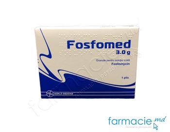 купить Fosfomed 3,0g  gran./sol. orala 3,0 N1 в Кишинёве