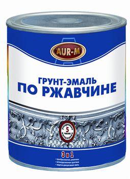 Aur-M Грунт-эмаль Серый 2,5кг