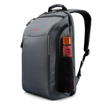 купить Классный рюкзак-чемодан TIGERNU T-B3265 с отверстием для наушников, водонепроницаемый, серый в Кишинёве