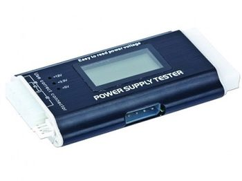 Gembird CHM-03, Power supply tester with LCD screen