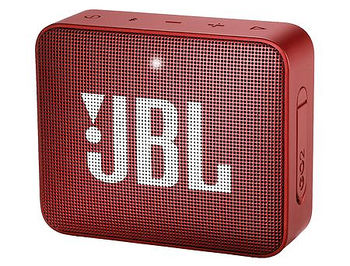JBL GO 2 Red Portable Bluetooth Speaker, 3W, 180Hz-20kHz, >80dB, 730mAh Lithium-ion polymer up to 5 hours, IPX7 Waterproof, JBLGO2RED (boxa portabila JBL / портативная колонка JBL)