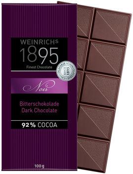 Ciocolată neagră fină Weinrichs 1895 Fine Dark Chocolate Noir 92%