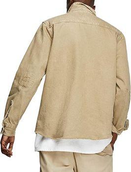 Рубашка ZARA Беж 2631/350/707.