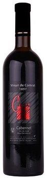 """Vinuri de Comrat Color """"Cabernet""""  demidulce roșu,  0.75 L"""