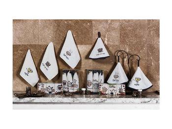 Набор полотенец кухонных 3шт 30X50cm Newhome Coffee 100% х/б