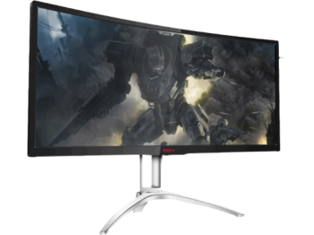 "купить 35.0"" AOC AGON MVA LED AG352QCX Black в Кишинёве"