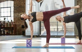 Опорные блоки для йоги