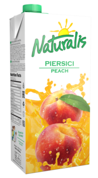 Naturalis nectar piersici 2 L