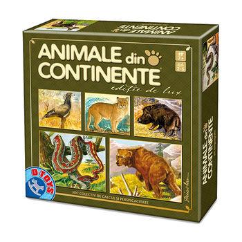 Настольная игра Animale din Continente, код 41323