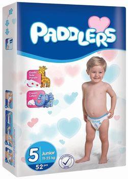Подгузники Paddlers Jumbo №5 Junior 11-25kg 52