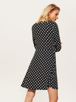 Платье HOUSE Чёрный в горошек Ub019-99x
