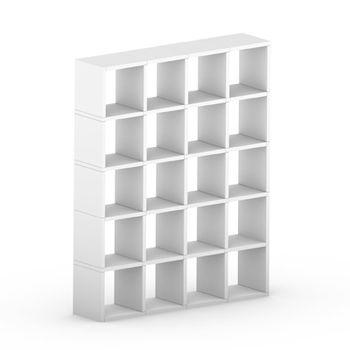 cumpără Etajeră Boon 1803x1448x330 mm,alb în Chișinău